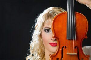 violin, woman, violin woman